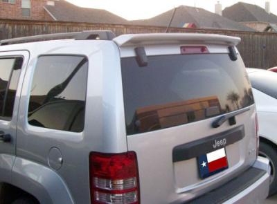 Spoilers - Custom Wing - DAR Spoilers - Jeep Liberty DAR Spoilers Custom Roof Wing w/o Light FG-282