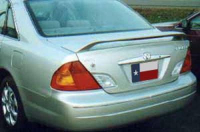 Spoilers - Custom Wing - DAR Spoilers - Toyota Avalon DAR Spoilers OEM Look 3 Post Wing w/ Light FG-283
