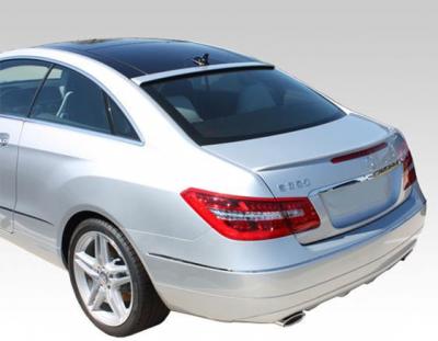 Spoilers - Custom Wing - DAR Spoilers - Mercedes E-Class Coupe DAR Spoilers OEM Look Trunk Lip Wing w/o Light FG-284