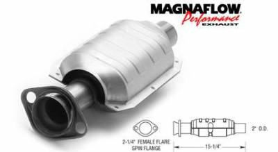 Exhaust - Catalytic Converter - MagnaFlow - MagnaFlow Direct Fit Rear Catalytic Converter - 23350