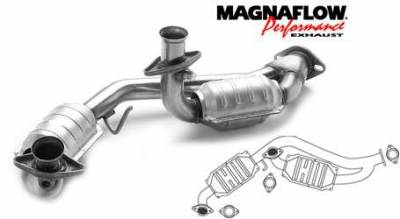Exhaust - Catalytic Converter - MagnaFlow - MagnaFlow Direct Fit Catalytic Converter - 23355