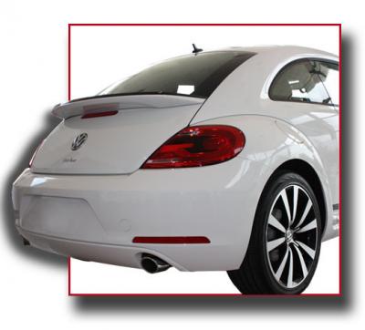 Spoilers - Custom Wing - DAR Spoilers - Volkswagen Beetle DAR Spoilers OEM Look Flush Wing w/o Light FG-296