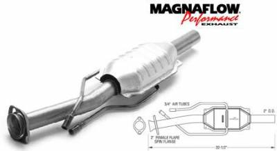 Exhaust - Catalytic Converter - MagnaFlow - MagnaFlow Direct Fit Catalytic Converter - 23358