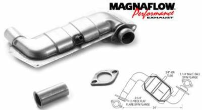 Exhaust - Catalytic Converter - MagnaFlow - MagnaFlow Direct Fit Rear Catalytic Converter - 23362