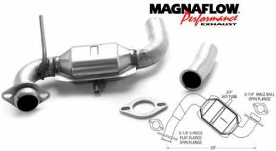 Exhaust - Catalytic Converter - MagnaFlow - MagnaFlow Direct Fit Catalytic Converter - 23370