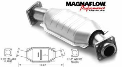 Exhaust - Catalytic Converter - MagnaFlow - MagnaFlow Direct Fit Catalytic Converter - 23425