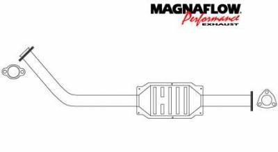 Exhaust - Catalytic Converter - MagnaFlow - MagnaFlow Direct Fit Catalytic Converter - 23426