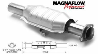 Exhaust - Catalytic Converter - MagnaFlow - MagnaFlow Direct Fit Catalytic Converter - 23452