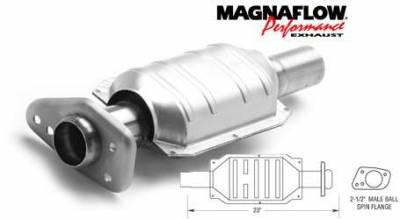 Exhaust - Catalytic Converter - MagnaFlow - MagnaFlow Direct Fit Catalytic Converter - 23496