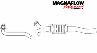 Exhaust - Catalytic Converter - MagnaFlow - MagnaFlow Direct Fit Catalytic Converter - 23513