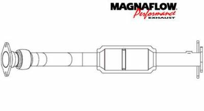Exhaust - Catalytic Converter - MagnaFlow - MagnaFlow Direct Fit Catalytic Converter - 23521