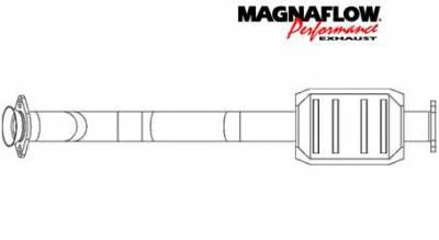 Exhaust - Catalytic Converter - MagnaFlow - MagnaFlow Direct Fit Catalytic Converter - 23522