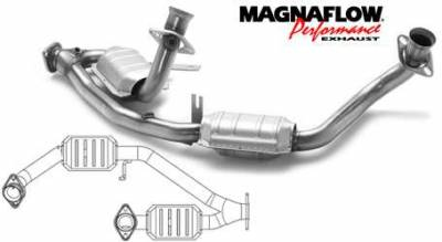 Exhaust - Catalytic Converter - MagnaFlow - MagnaFlow Direct Fit Y-Pipe Catalytic Converter - 23523