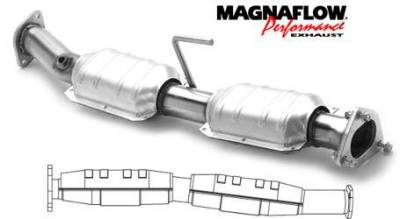Exhaust - Catalytic Converter - MagnaFlow - MagnaFlow Direct Fit Front & Rear Catalytic Converter - 23541