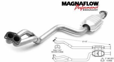 Exhaust - Catalytic Converter - MagnaFlow - MagnaFlow Direct Fit Catalytic Converter - 23552