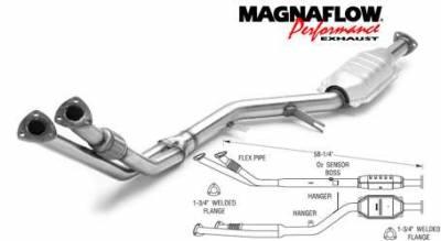 Exhaust - Catalytic Converter - MagnaFlow - MagnaFlow Direct Fit Catalytic Converter - 23553