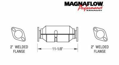 Exhaust - Catalytic Converter - MagnaFlow - MagnaFlow Direct Fit Catalytic Converter - 23683