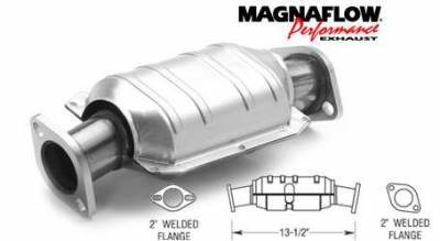 Exhaust - Catalytic Converter - MagnaFlow - MagnaFlow Direct Fit Catalytic Converter - 23684