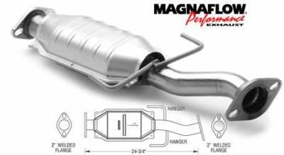 Exhaust - Catalytic Converter - MagnaFlow - MagnaFlow Direct Fit Catalytic Converter - 23685