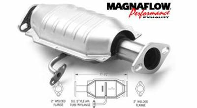 Exhaust - Catalytic Converter - MagnaFlow - MagnaFlow Direct Fit Front & Rear Catalytic Converter - 23688