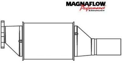 Exhaust - Catalytic Converter - MagnaFlow - MagnaFlow Direct Fit Catalytic Converter - 23712