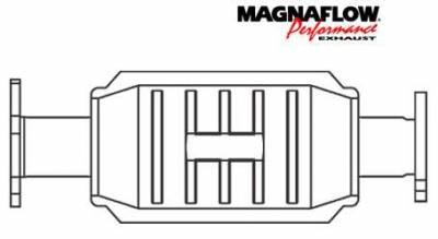Exhaust - Catalytic Converter - MagnaFlow - MagnaFlow Direct Fit Catalytic Converter - 23767