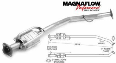 Exhaust - Catalytic Converter - MagnaFlow - MagnaFlow Direct Fit Catalytic Converter - 23860