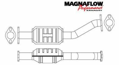 Exhaust - Catalytic Converter - MagnaFlow - MagnaFlow Direct Fit Rear Catalytic Converter - 23865