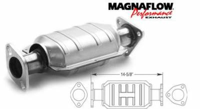 Exhaust - Catalytic Converter - MagnaFlow - MagnaFlow Direct Fit Catalytic Converter - 23879