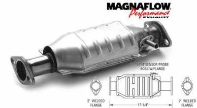 Exhaust - Catalytic Converter - MagnaFlow - MagnaFlow Direct Fit Catalytic Converter - 23888