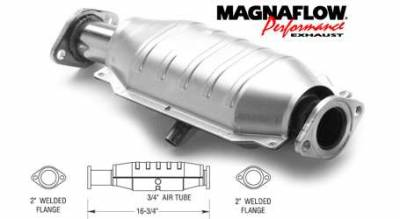 Exhaust - Catalytic Converter - MagnaFlow - MagnaFlow Direct Fit Catalytic Converter - 23891