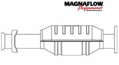 Exhaust - Catalytic Converter - MagnaFlow - MagnaFlow Direct Fit Catalytic Converter - 42636