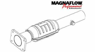 Exhaust - Catalytic Converter - MagnaFlow - MagnaFlow Direct Fit Catalytic Converter - 46437