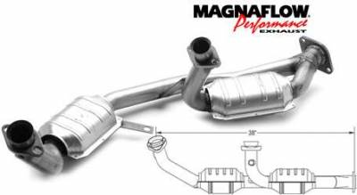 Exhaust - Catalytic Converter - MagnaFlow - MagnaFlow Direct Fit Front Y-Pipe Catalytic Converter - 50202