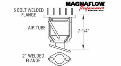 Exhaust - Catalytic Converter - MagnaFlow - MagnaFlow Direct Fit Catalytic Converter - 50241