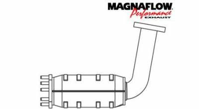 Exhaust - Catalytic Converter - MagnaFlow - MagnaFlow Direct Fit Front Catalytic Converter - 50860