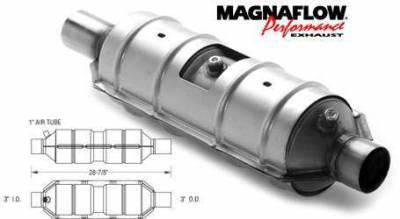 Exhaust - Catalytic Converter - MagnaFlow - MagnaFlow Direct Fit Catalytic Converter - 55300