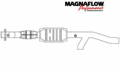 Exhaust - Catalytic Converter - MagnaFlow - MagnaFlow Direct Fit Catalytic Converter - 93322
