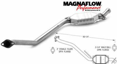 Exhaust - Catalytic Converter - MagnaFlow - MagnaFlow Direct Fit Catalytic Converter - 93340