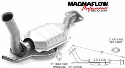 Exhaust - Catalytic Converter - MagnaFlow - MagnaFlow Direct Fit Catalytic Converter - 93367