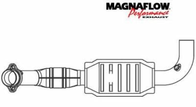 Exhaust - Catalytic Converter - MagnaFlow - MagnaFlow Direct Fit Catalytic Converter - 93390