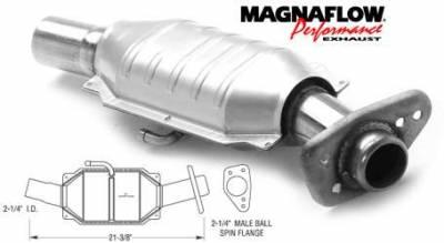Exhaust - Catalytic Converter - MagnaFlow - MagnaFlow Direct Fit Catalytic Converter - 93418