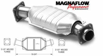 Exhaust - Catalytic Converter - MagnaFlow - MagnaFlow Direct Fit Catalytic Converter - 93427