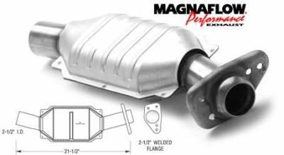 Exhaust - Catalytic Converter - MagnaFlow - MagnaFlow Direct Fit Catalytic Converter - 93431