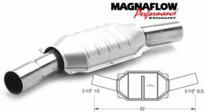 Exhaust - Catalytic Converter - MagnaFlow - MagnaFlow Direct Fit Catalytic Converter - 93432