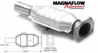 Exhaust - Catalytic Converter - MagnaFlow - MagnaFlow Direct Fit Catalytic Converter - 93439