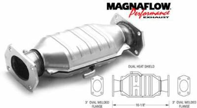 Exhaust - Catalytic Converter - MagnaFlow - MagnaFlow Direct Fit Catalytic Converter - 93440