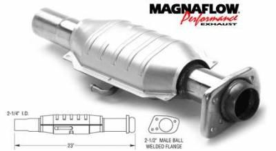 Exhaust - Catalytic Converter - MagnaFlow - MagnaFlow Direct Fit Catalytic Converter - 93456