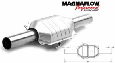 Exhaust - Catalytic Converter - MagnaFlow - MagnaFlow Direct Fit Catalytic Converter - 93470