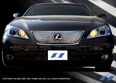 Grilles - Custom Fit Grilles - SES Trim - Lexus ES SES Trim Billet Grille - 304 Chrome Plated Stainless Steel - CG148